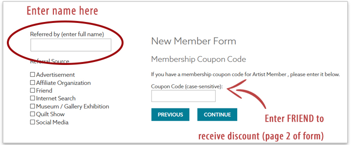 Friend Discount Entry