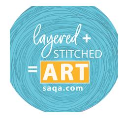 Layered + Stitched + Art