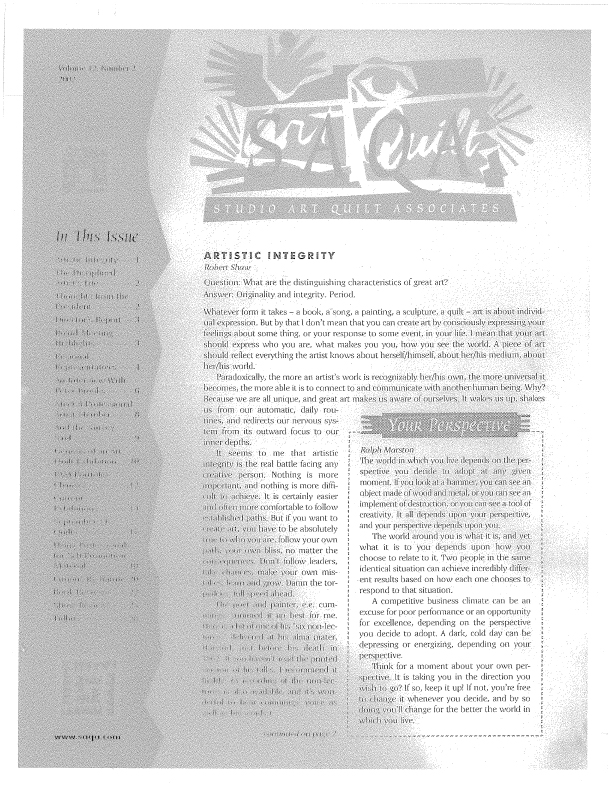 SAQA Journal 2002 Vol. 12 No. 2 Part 1