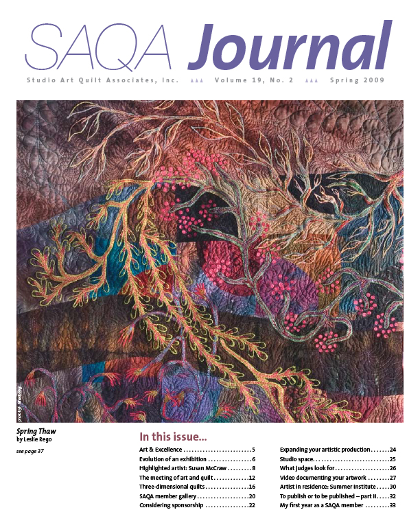 SAQA Journal 2009 Vol. 19 No. 2
