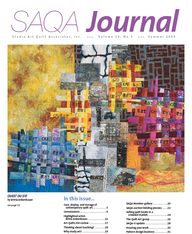 SAQA Journal 2009 Vol. 19 No. 3