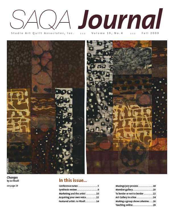 SAQA Journal 2009 Vol. 19 No. 4
