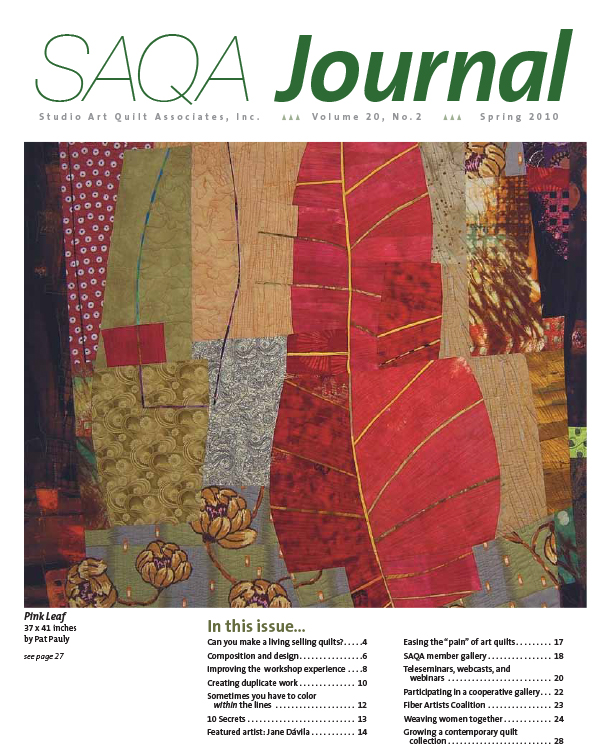 SAQA Journal 2010 Vol. 20 No. 2
