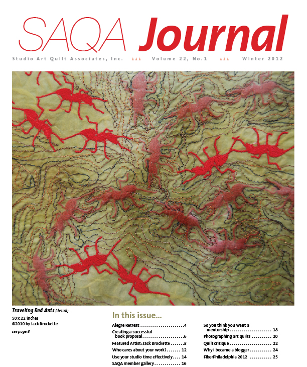 SAQA Journal 2012 Vol. 22 No. 1