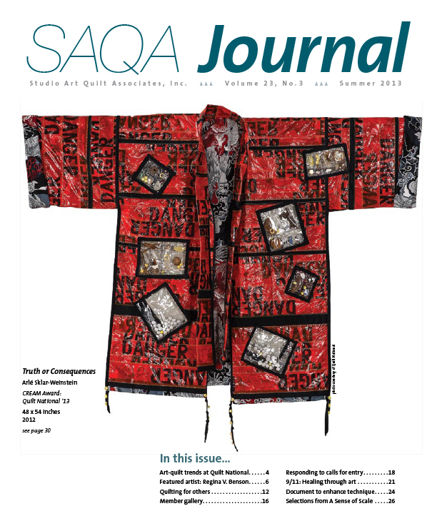 SAQA Journal 2013 Vol. 23 No. 3