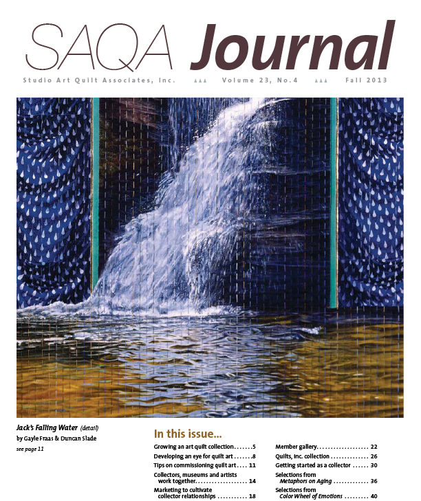 SAQA Journal 2013 Vol. 23 No. 4