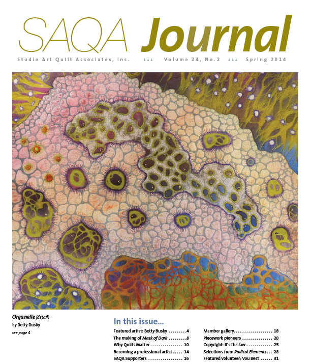 SAQA Journal 2014 Vol. 24 No. 2