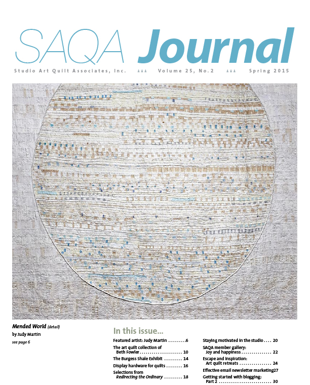 SAQA Journal 2015 Vol. 25 No. 2