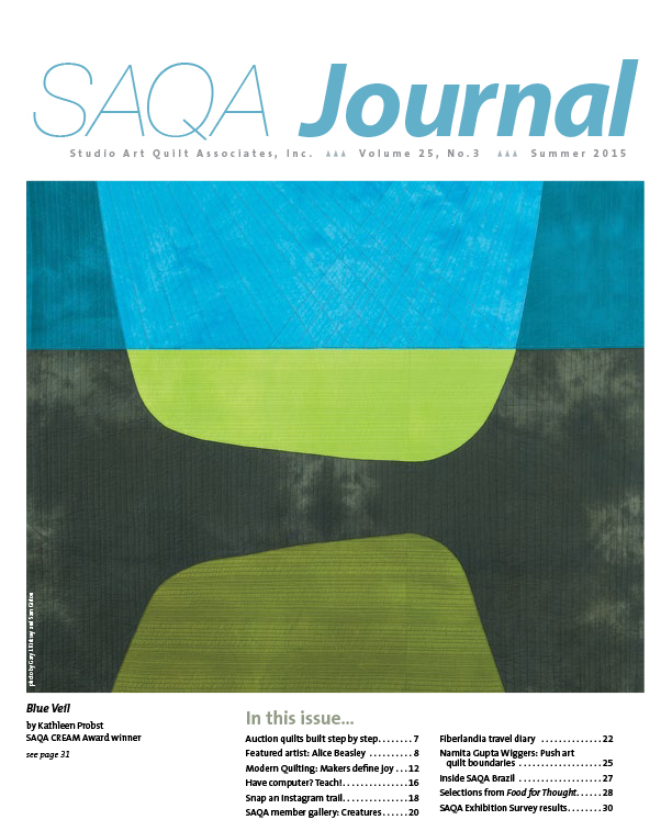 SAQA Journal 2015 Vol. 25 No. 3