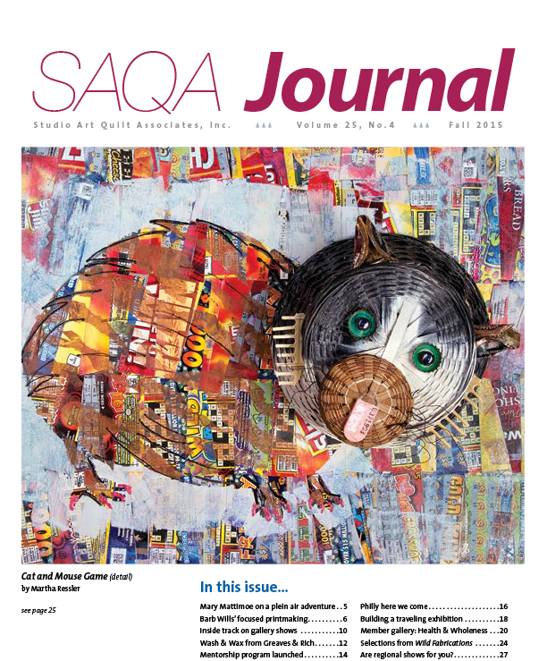 SAQA Journal 2015 Vol. 25 No. 4