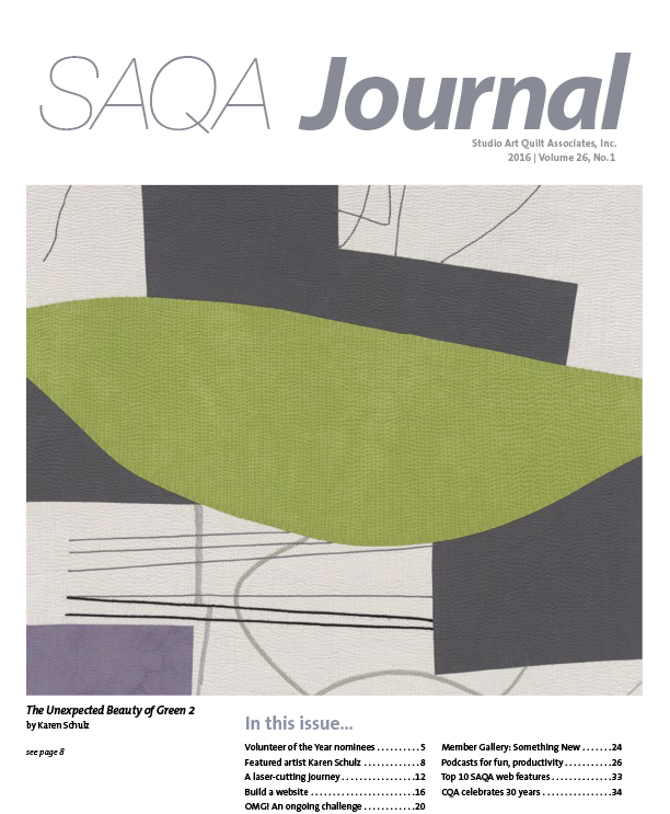 SAQA Journal 2016 Vol. 26 No. 1