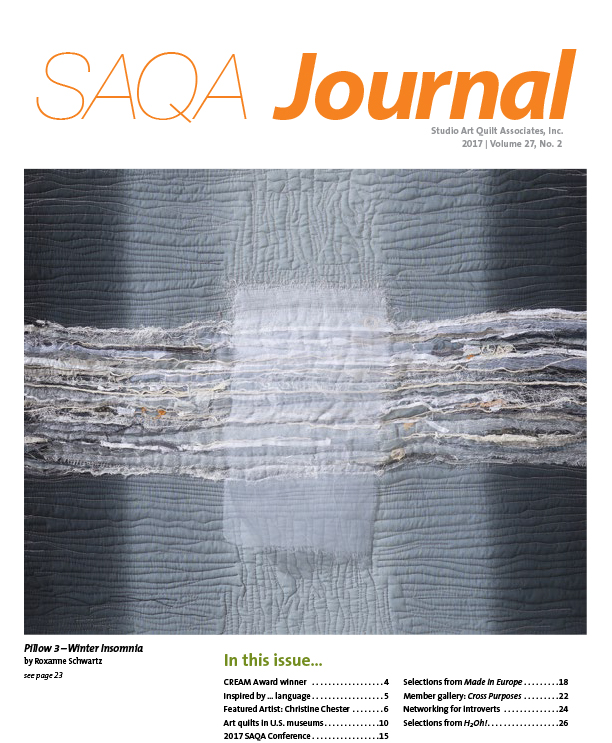SAQA Journal 2017 Vol. 27 No. 2