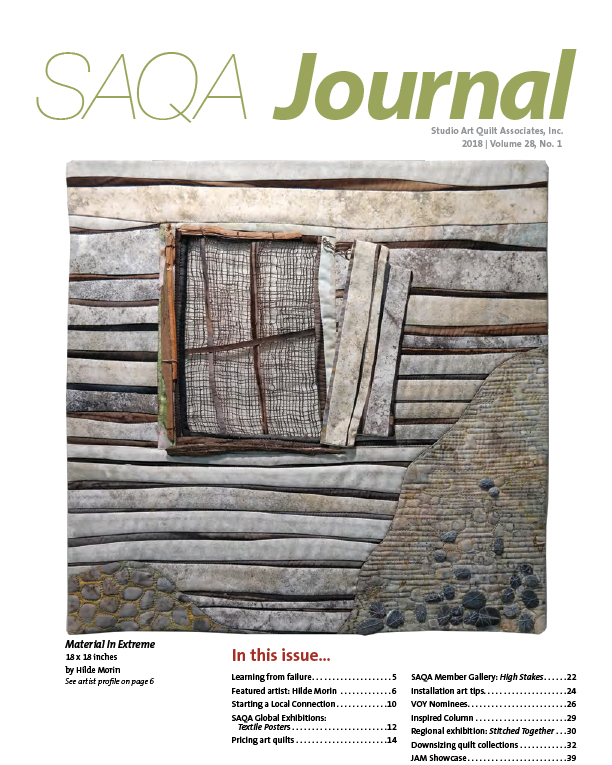 SAQA Journal 2018 Vol. 28 No. 1