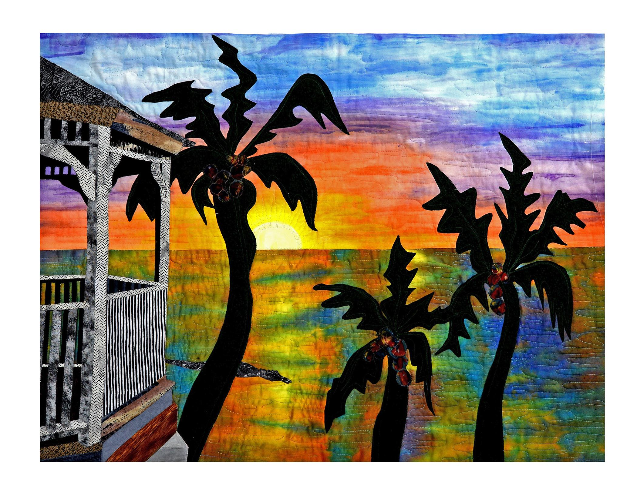 Bonnie Askowitz - Gazebo Sunset