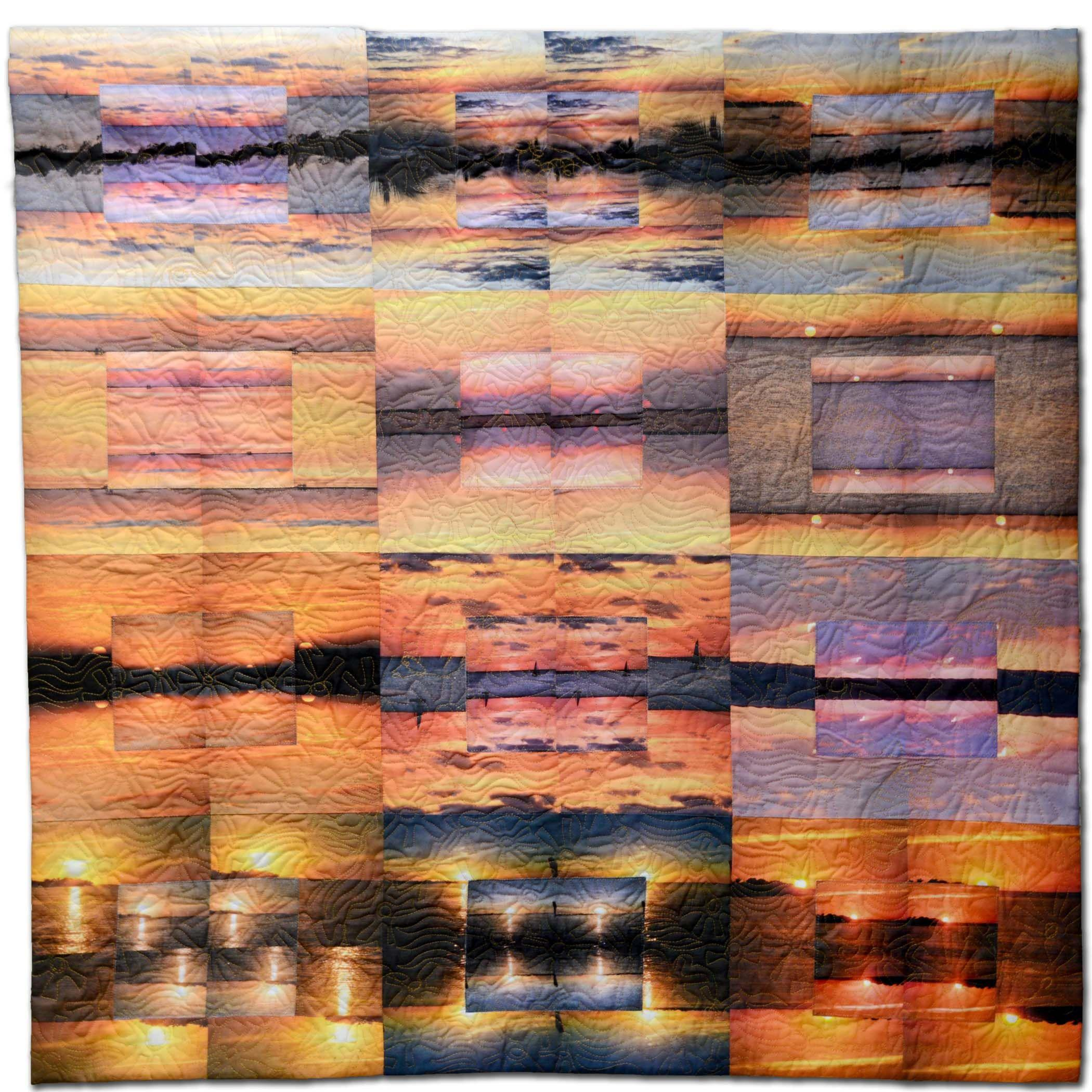 Bonnie  Askowitz - The Sun Set over Blackwater Sound
