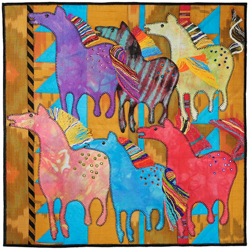 Cathie I. Hoover - Wild Horses - In Honor of Yvonne Porcella