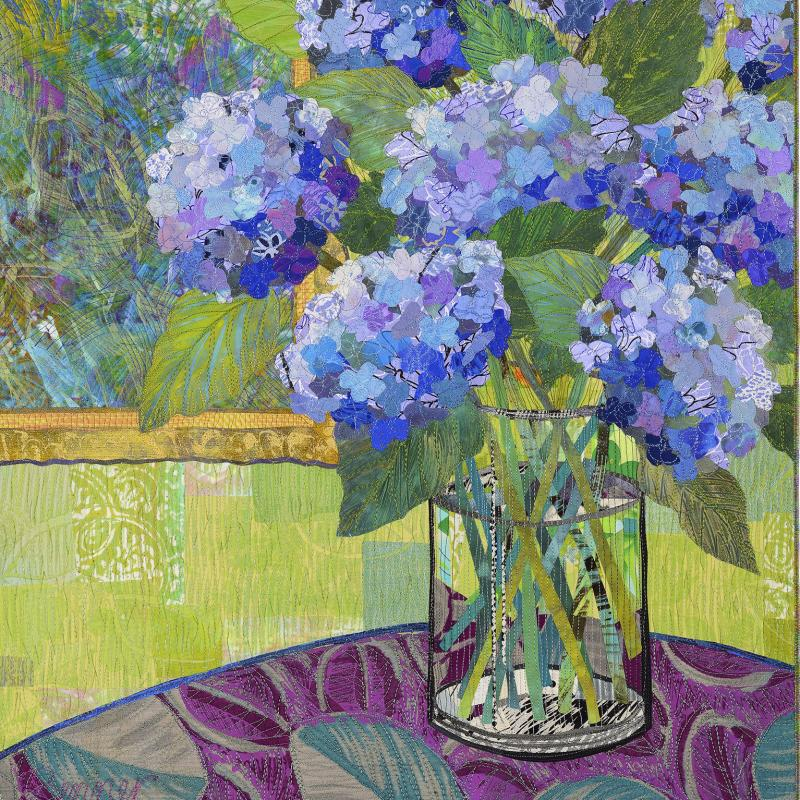 Sue Benner - Famous and Not So Famous Flowers #10: Dana's Hydrangeas