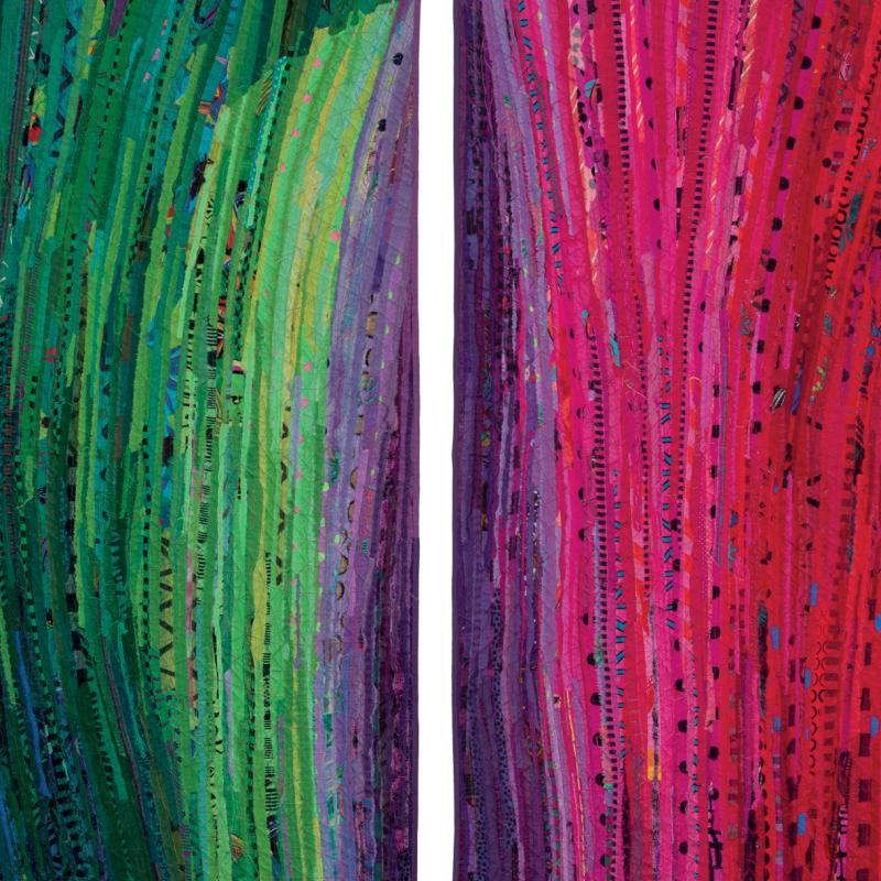 Judy Hooworth - Mother and Daughters: Kate and Sarah (diptych)