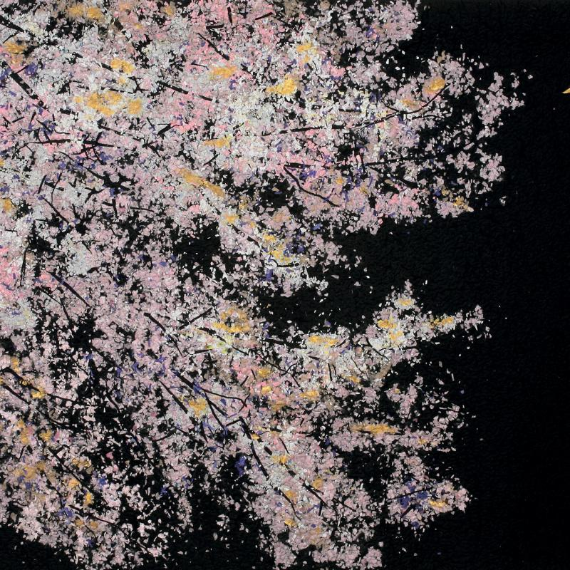 Noriko Endo - Cherry Blossoms and Moon