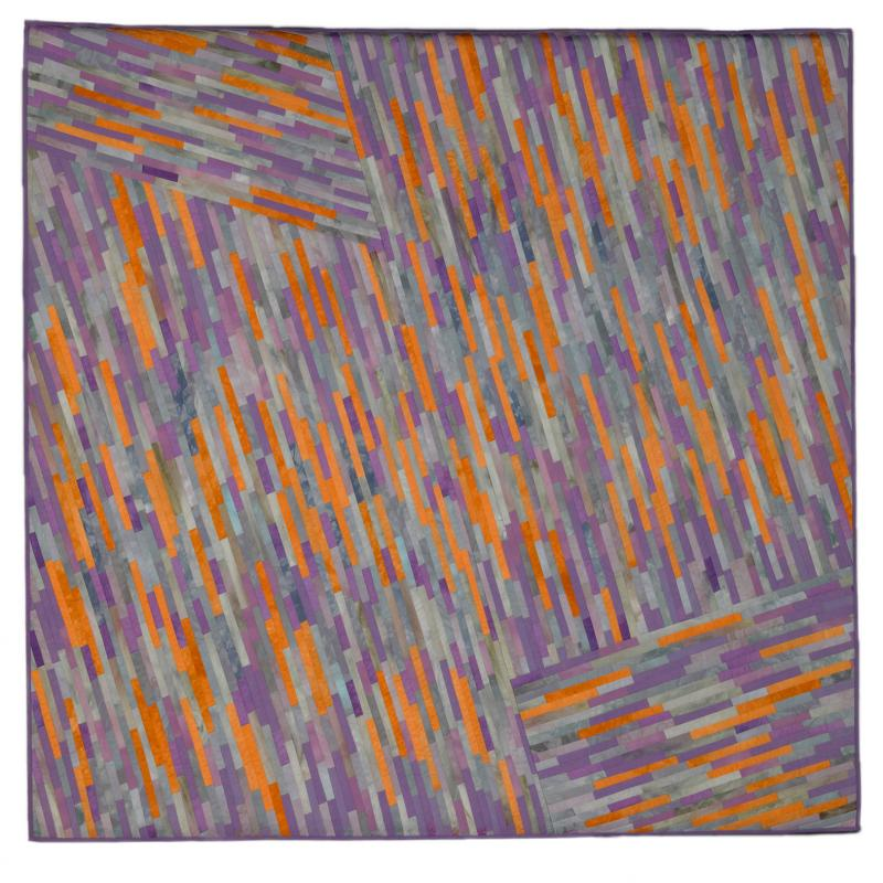 Judith Larzelere - Luminosity:Gray, Peach, Lavender