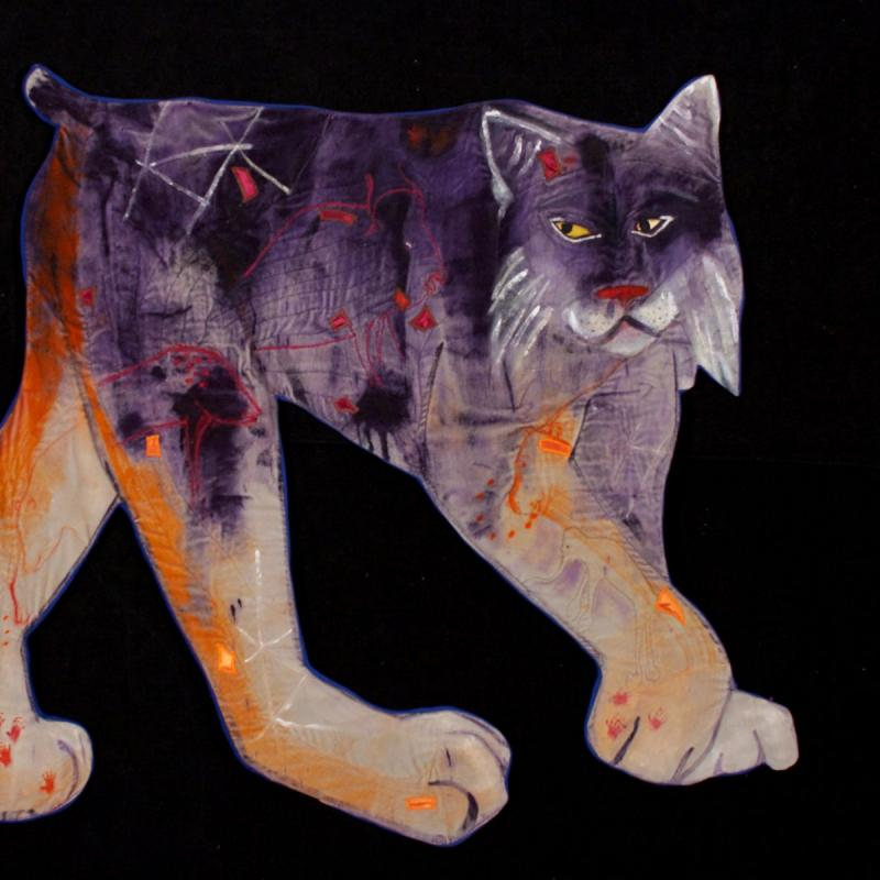 Nancy  Erickson - The Purple Lynx