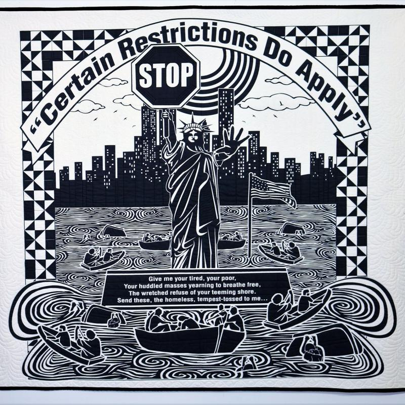 Carolyn  Mazloomi - Certain Restrictions Do Apply