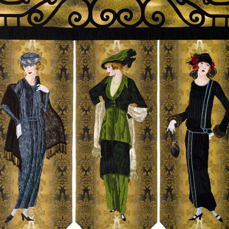 Valeta Hensely - Fashionable Ladies of the '20s