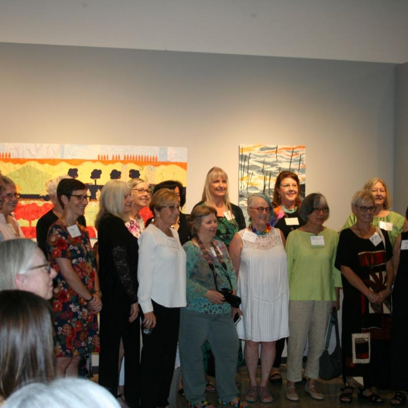 Artist Opening of Connecting to Our Natural Worlds, October 2019, Sonoran Desert Museum, Tucson, AZ