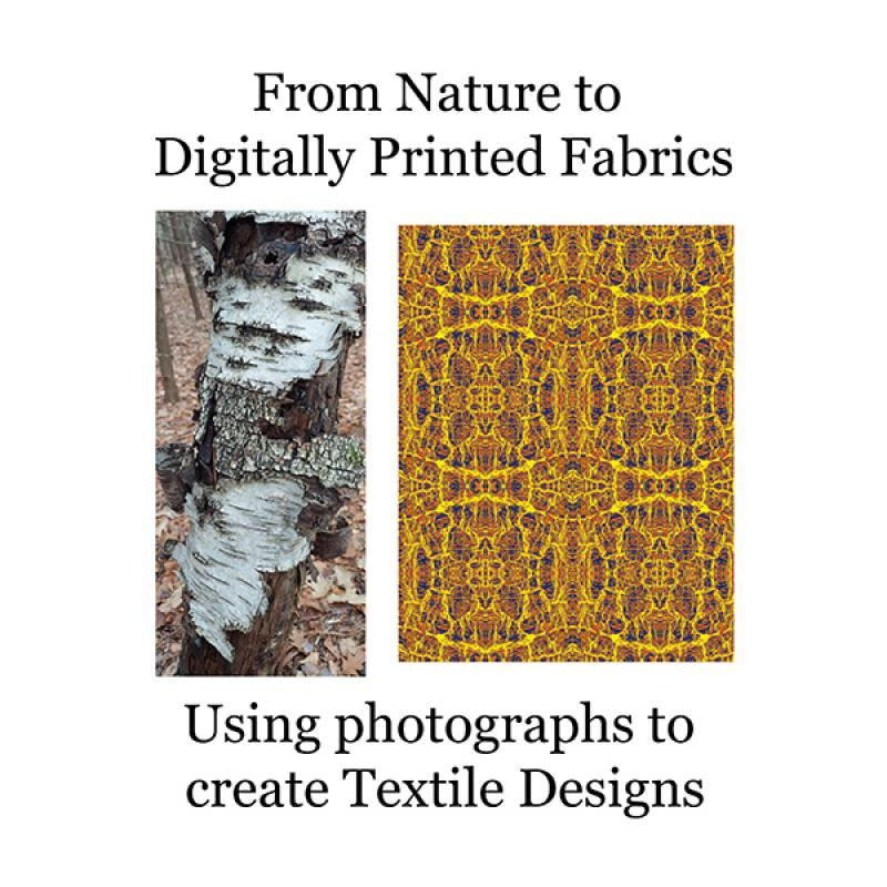 From Nature to Digitally Printed Fabric - Zoom webinar