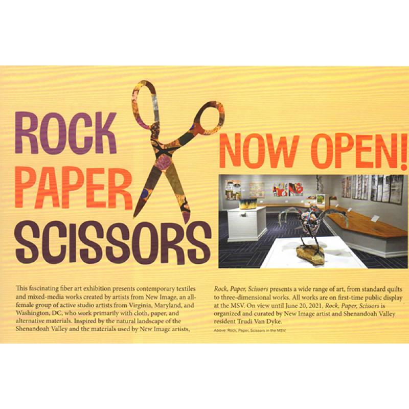 Rock Paper Scissors postcard