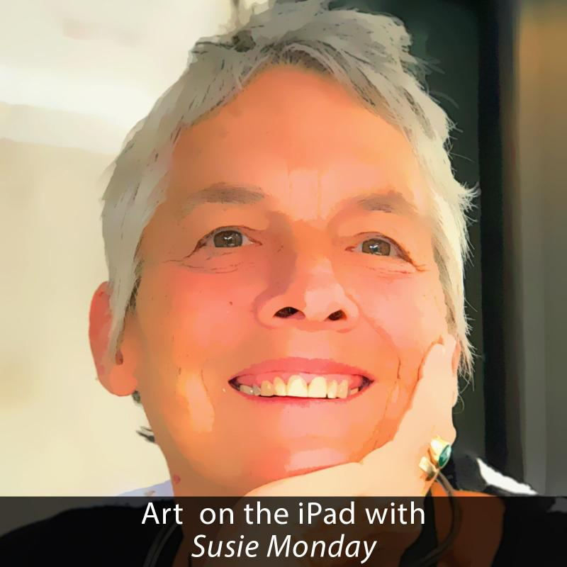 Art on the iPad with Susie Monday