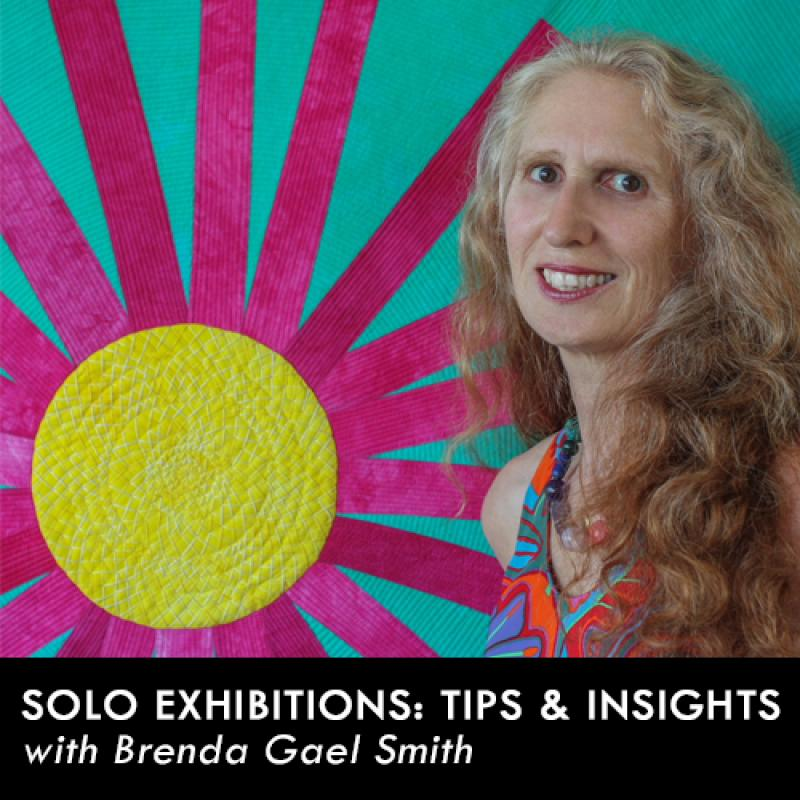Solo Exhibitions - Tips & Insights with Brenda Gael Smith
