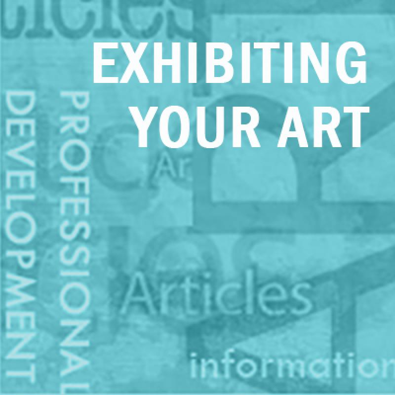 Exhibiting your art