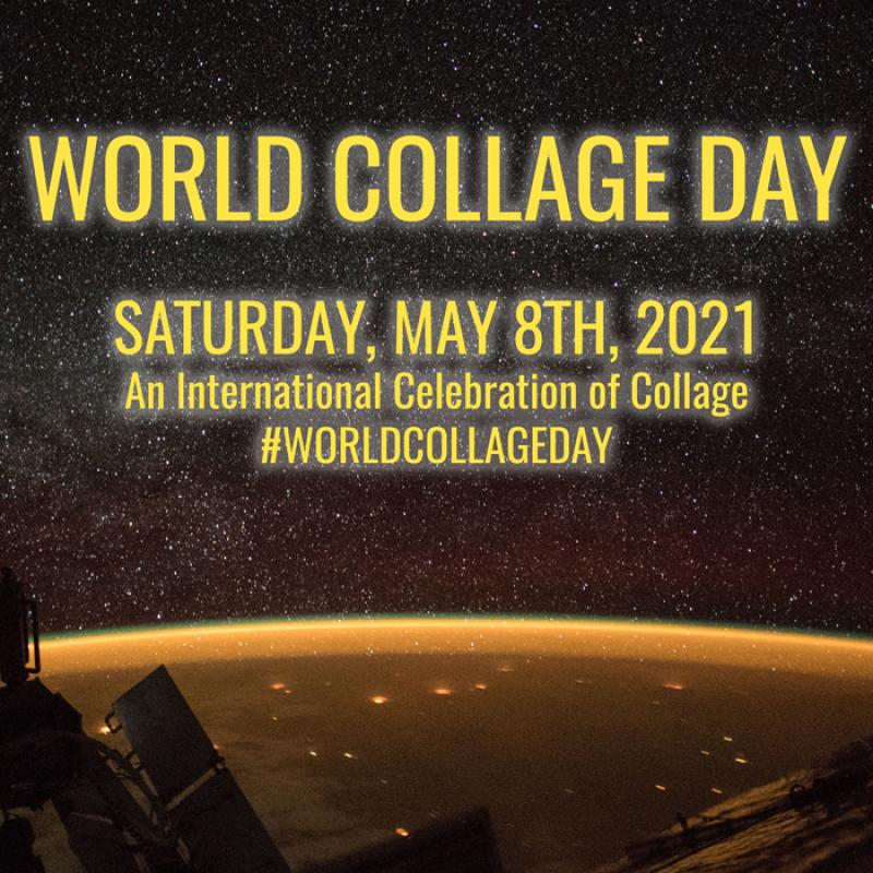 World Collage Day 2021 logo